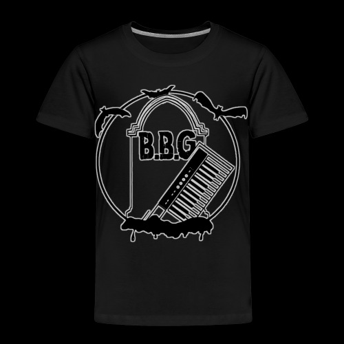 Ben Bloodygrave Logo - Kinder Premium T-Shirt