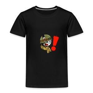 soldaat kat - Kinderen Premium T-shirt