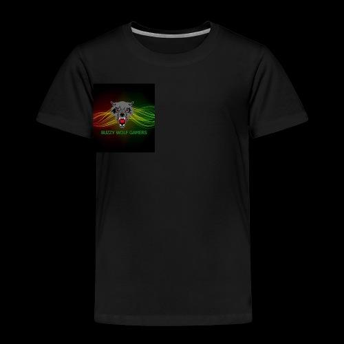 BuzzyWolfGamers - Kids' Premium T-Shirt