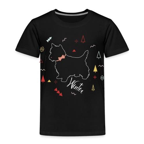 WINTER DOG COLLECTION - T-shirt Premium Enfant