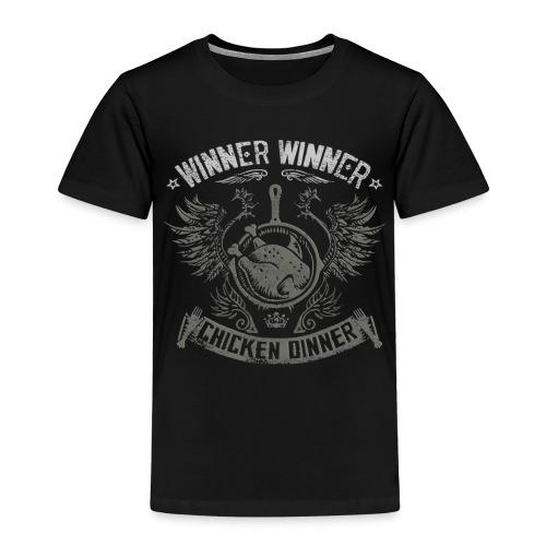 Chicken dinner - PUBG - Premium T-skjorte for barn
