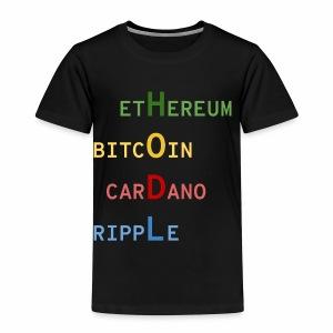 HODL color - T-shirt Premium Enfant