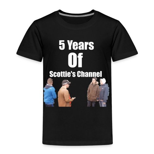 5 Years Of Scottie's Channel - Kids' Premium T-Shirt