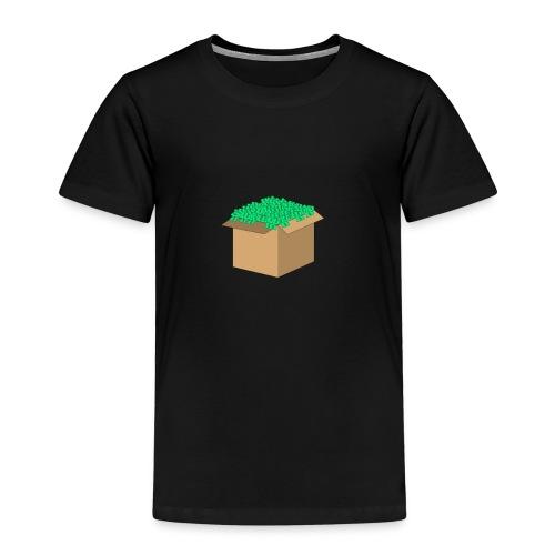 Geld Karton - Kinder Premium T-Shirt