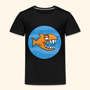 GO, PIRANHA! - Maglietta Premium per bambini