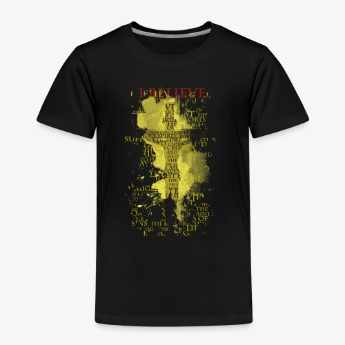 I believe / wierzę (yellow-żółty) - Koszulka dziecięca Premium