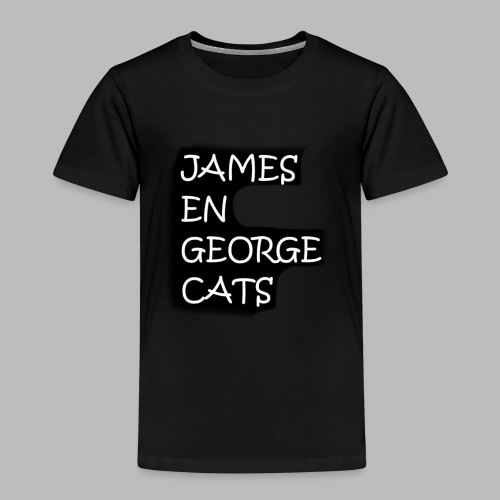 James en George (Limited Edition!) - Kinderen Premium T-shirt