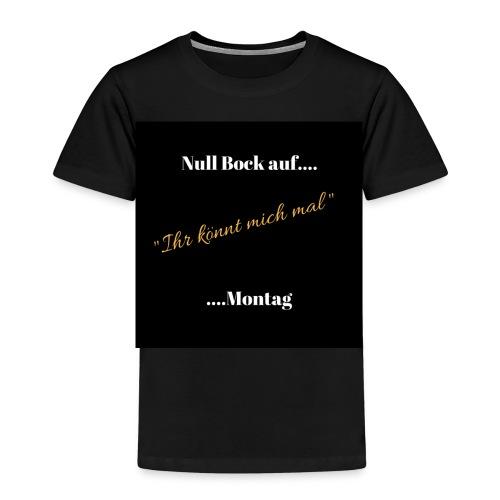 Null Bock auf.... - Kinder Premium T-Shirt