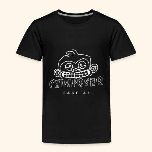 chimposer negative design - Kinderen Premium T-shirt