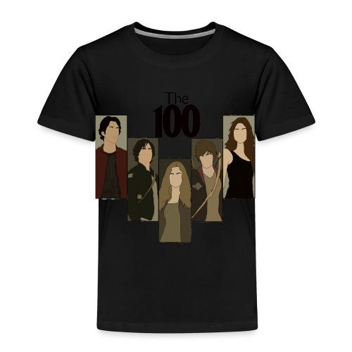 The 100. Personajes - Camiseta premium niño
