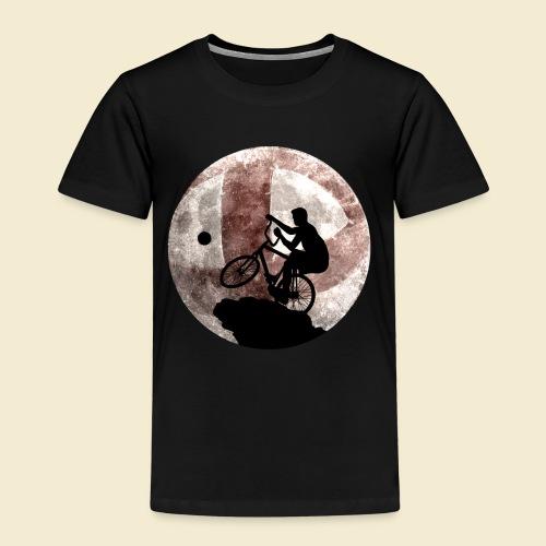 Radball   Cycle Ball Moon - Kinder Premium T-Shirt