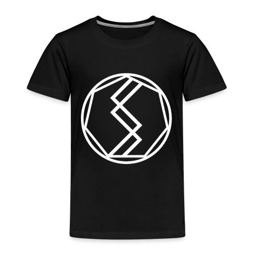 Silent Science Logo (White) - Kids' Premium T-Shirt