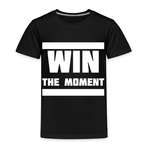 Win the moment Motiv/Weiß - Kinder Premium T-Shirt