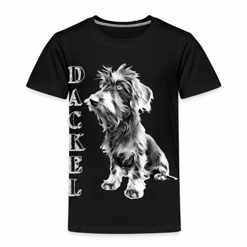 Dackel die besten Hunde der Welt Dackelfieber - Kinder Premium T-Shirt