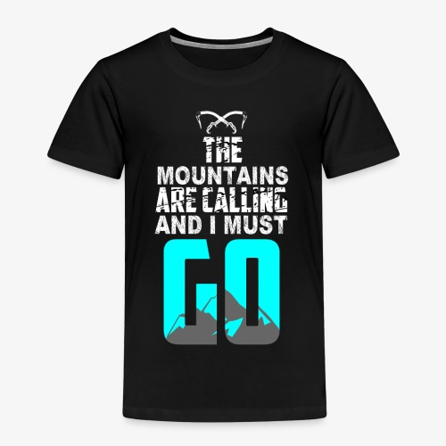 La Llamada del Escalador de Montaña - Camiseta premium niño