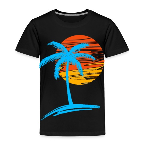 Summer palm effect - T-shirt Premium Enfant