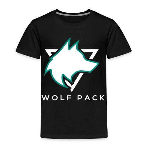 Wolf Pack Logo (NEW) - Kids' Premium T-Shirt