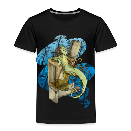 Alien merman - Kinderen Premium T-shirt
