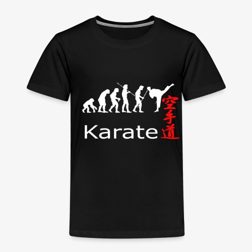 Karate weiß - Kinder Premium T-Shirt