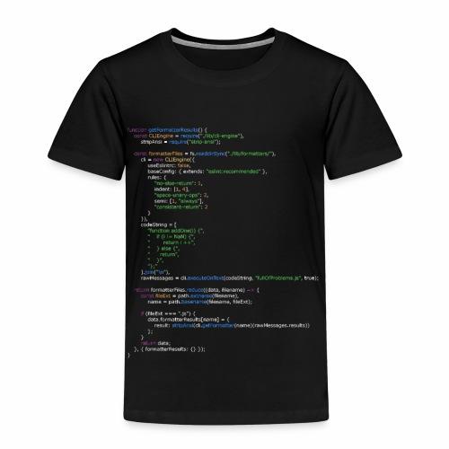 Code Shirt - Kinder Premium T-Shirt