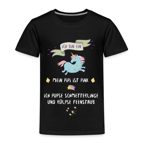 Ich bin ein Einhorn - Kinder Premium T-Shirt