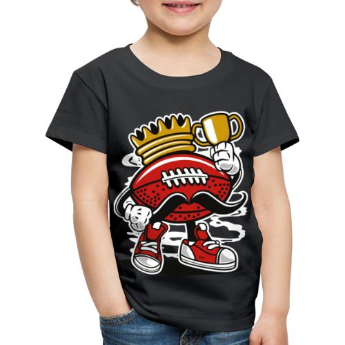 Football King - Kinder Premium T-Shirt