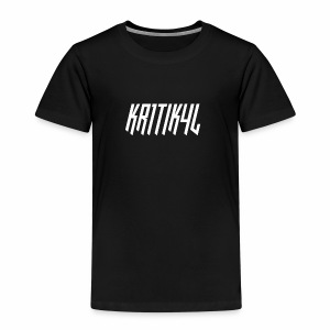 KR1TIK4L HU White Design - Kids' Premium T-Shirt