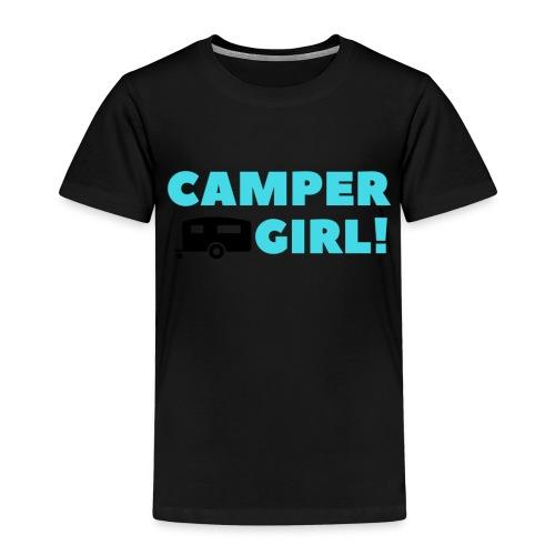 CAMPER Girl - Kinder Premium T-Shirt