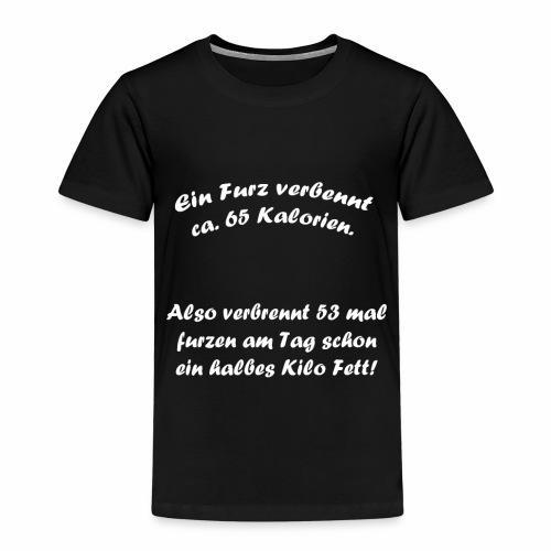Sportlicher Furz Pups - Kinder Premium T-Shirt