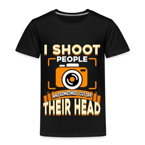 Fotografiere Leute Kopf abschneiden - Kinder Premium T-Shirt