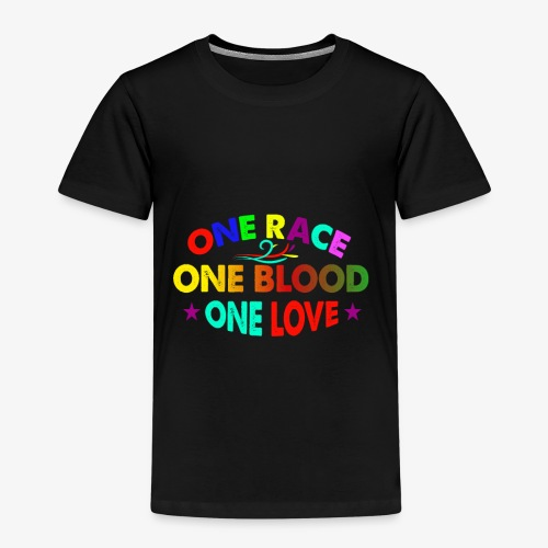 One Love reggae - Kids' Premium T-Shirt
