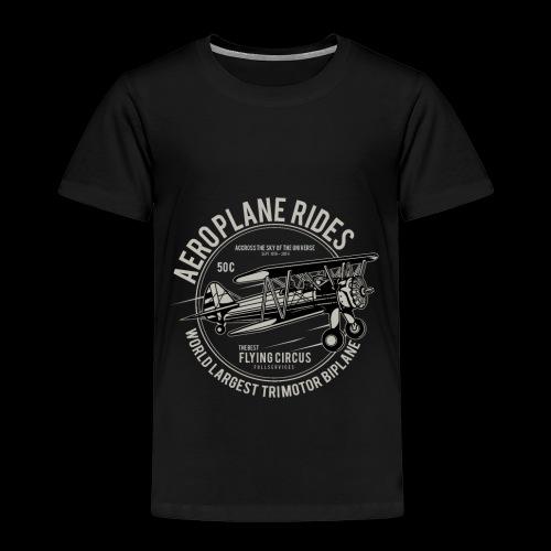 Aeroplane Ride - Kinder Premium T-Shirt
