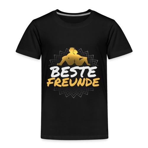 BESTE FREUNDE Geschenk Freundschaft Freundin - Kinder Premium T-Shirt