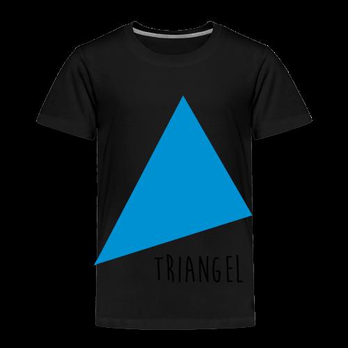 Triangel Ekologisk T-shirt - Premium-T-shirt barn