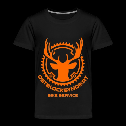 LOGO Orange - Kinder Premium T-Shirt