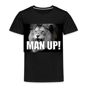Man up - Premium T-skjorte for barn