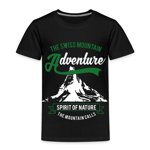 The Swiss Mountain - Kids' Premium T-Shirt