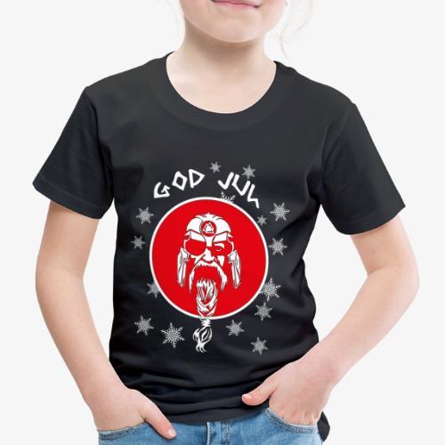 God Jul Wikinger - Frohe Weihnachten - Kinder Premium T-Shirt
