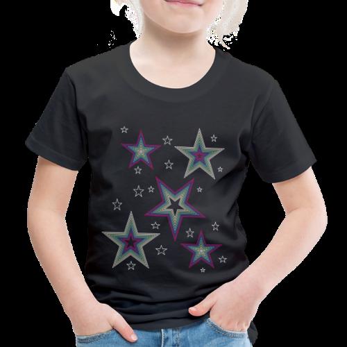 Disco Stars - Party und Open Air Festival Design - Kinder Premium T-Shirt