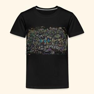 Street Art hypnotique - T-shirt Premium Enfant