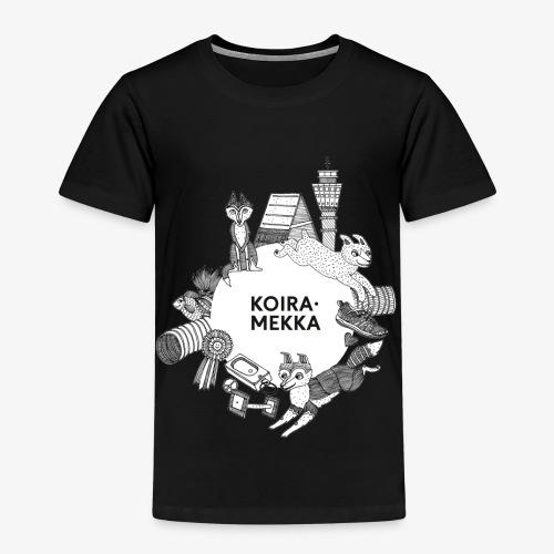 Koiramekka Original - Lasten premium t-paita