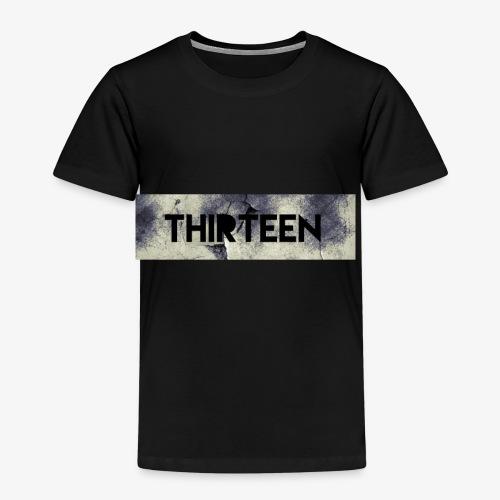 Box Logo Thirteen - Kinderen Premium T-shirt