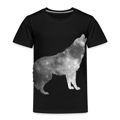 Mond im Wolfspelz - Kinder Premium T-Shirt