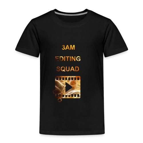 3AM EDITING SQUAD - Lasten premium t-paita