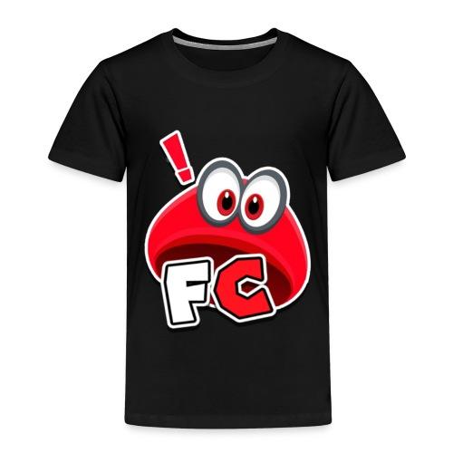Flying Cappys Logo! - Kinder Premium T-Shirt
