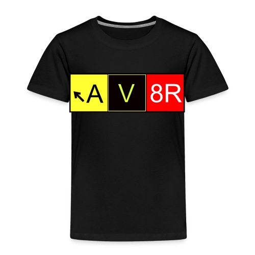 Taxiway AV8R - Kinder Premium T-Shirt