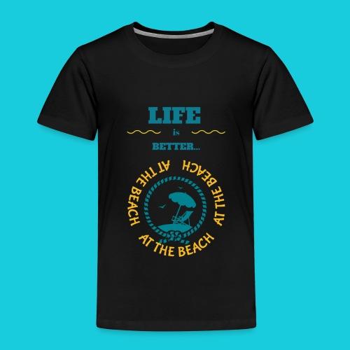 Zwapp Designs Beach - Kinder Premium T-Shirt