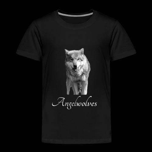 Wolfskopf Angelwolves - Kinder Premium T-Shirt