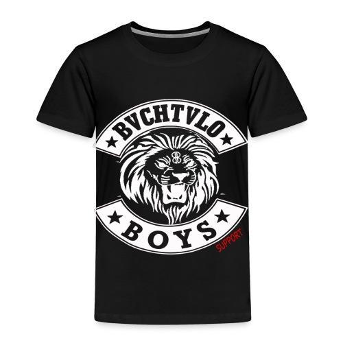 bachtalo boys logo weiss - Kinder Premium T-Shirt