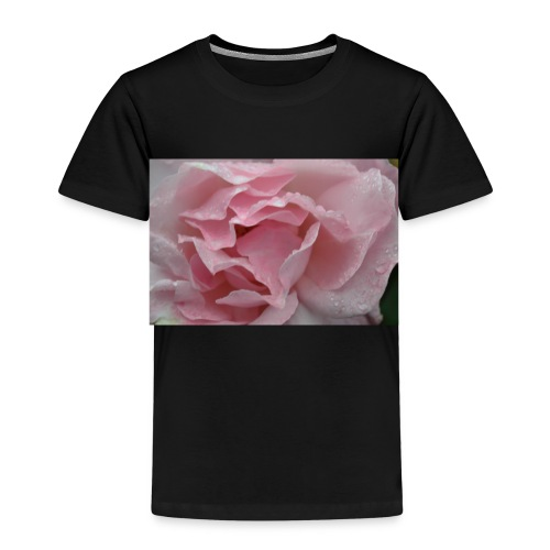 Water Droplet Rose - Kids' Premium T-Shirt